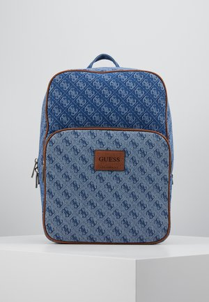 DAN LOGO BACKPACK - Reppu - blue