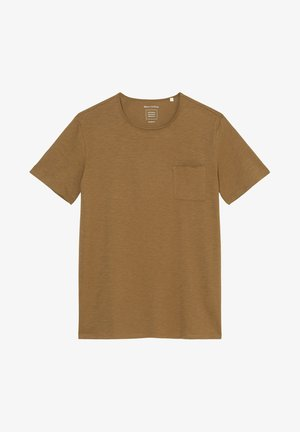 SHORT SLEEVE ROUND NECK - Basic T-shirt - tarpley brown
