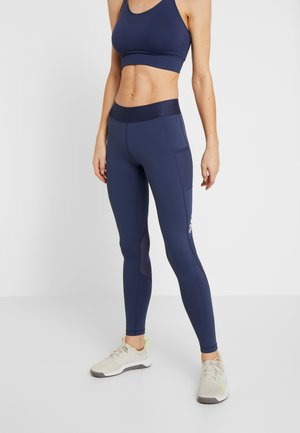 ASK LONG - Leggings - dark blue