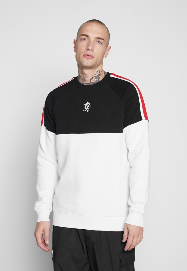 CUT AND SEW  - Sweatshirt - black/white
