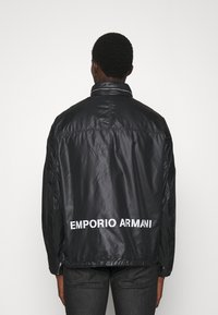 Emporio Armani - BLOUSON JACKET - Summer jacket - nero - 0