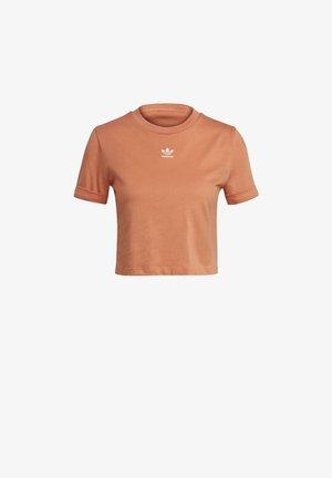 T-shirt print - hazy copper