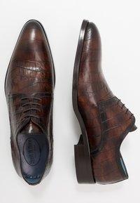 Brett & Sons - Smart lace-ups - cognac - 1