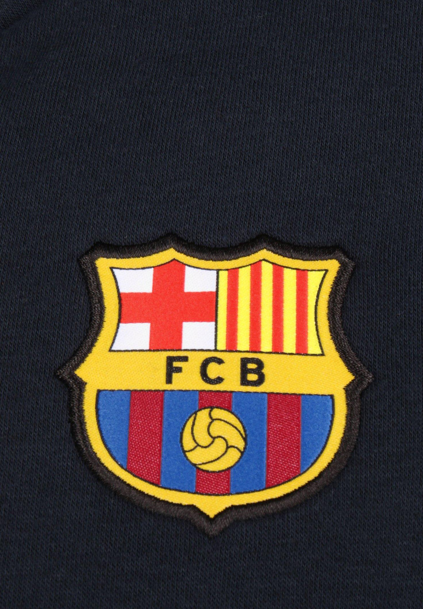 Nike Performance FC BARCELONA SENYERA KAPUZENPULLOVER HERREN - Article de supporter - dark obsidian / varsity