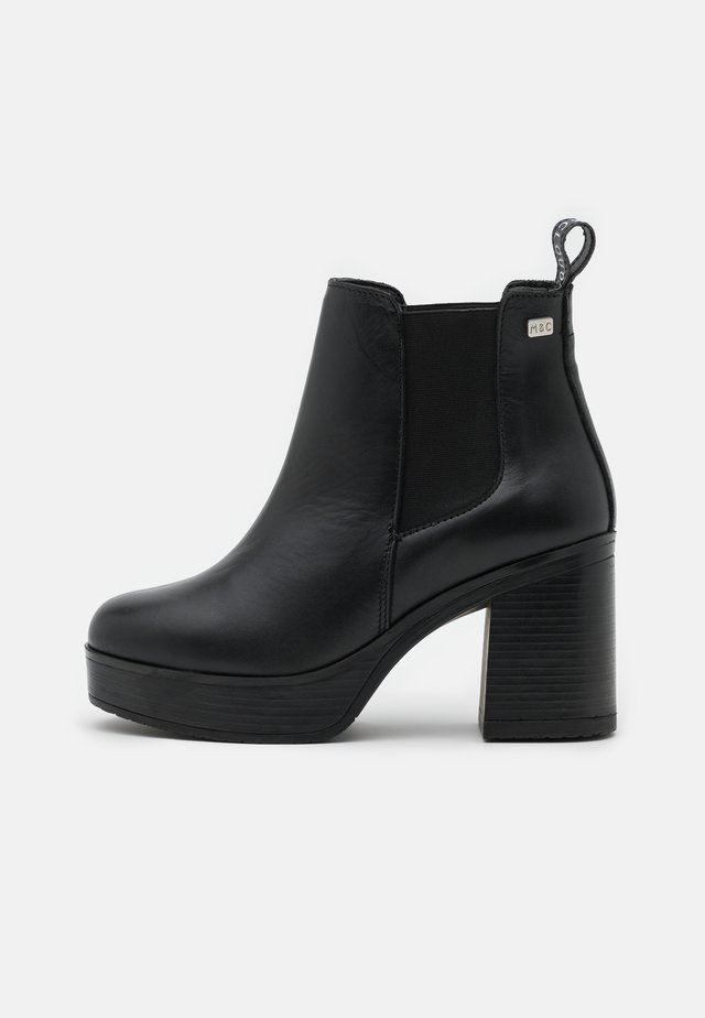 RONAN - Bottines à plateau - black