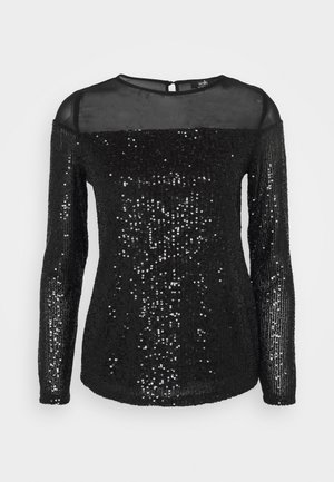 LONG SLEEVE  - T-shirt à manches longues - black