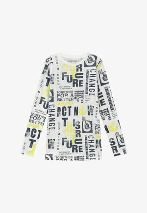 TEENS FUTURE CLIMATE ACTION - Long sleeved top - offwhite