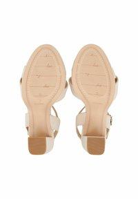 COX - High heeled sandals - beige - 2
