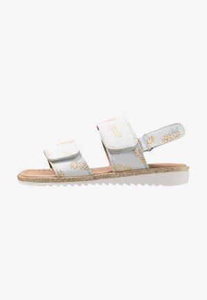 ERIS - Sandaler - oro/blanco