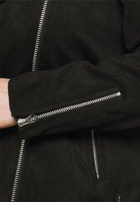 Zizzi - ESUS JACKET  - Faux leather jacket - black - 3