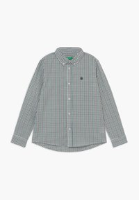 Benetton - Shirt - white/green/blue - 0