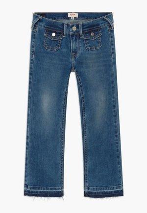 KICKI MINI - Bootcut jeans - denim