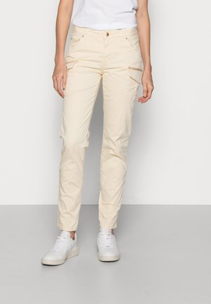 CAMILLE CARGO FALL PANT - Cargo trousers - wood ash
