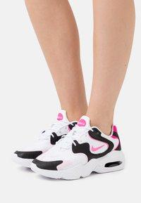 Nike Sportswear - AIR MAX 2X - Trainers - white/pink glow/pink foam/hyper pink/black - 0