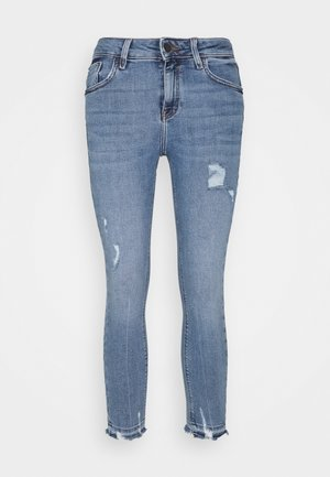 AMELIE CALLY - Jeans straight leg - light auth