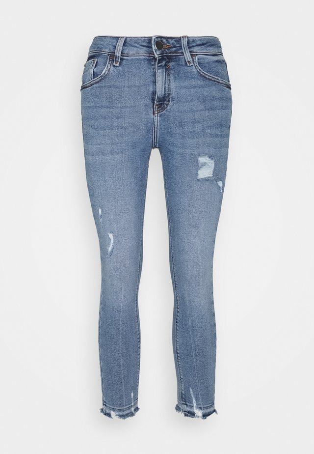 AMELIE CALLY - Straight leg jeans - light auth