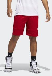 adidas Performance - SPEED REVERSIBLE SHORTS - Urheilushortsit - red - 0