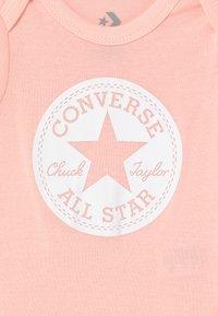 Converse - CHUCK TAYLOR 2 PACK - Camiseta estampada - converse storm pink - 3
