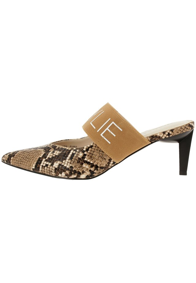 LACEY  - Classic heels - natural