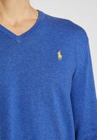 Polo Ralph Lauren - LONG SLEEVE - Strickpullover - blue - 5