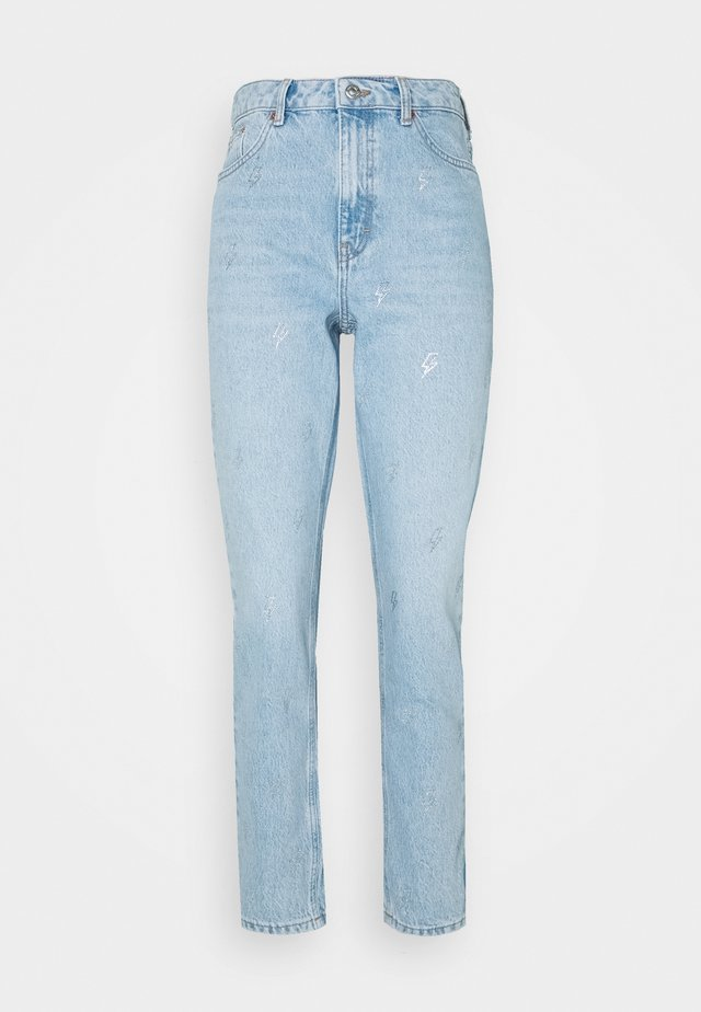 BLEACH LIGHTENING MOM ATLANTA - Relaxed fit jeans - bleach stone