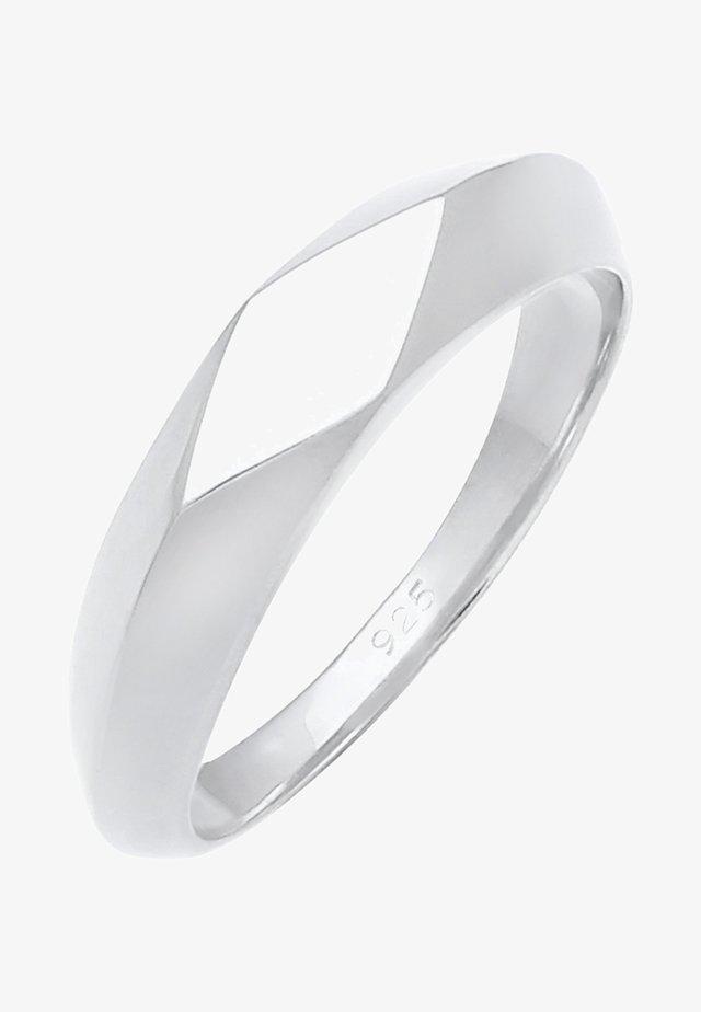 DESIGN BASIC - Ring - silver-coloured