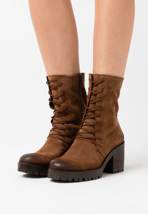 COSMO - Platform ankle boots - marvin brown