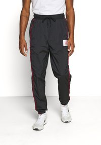 Jordan - FLIGHT WARMUP PANT - Trainingsbroek - black/university red - 0