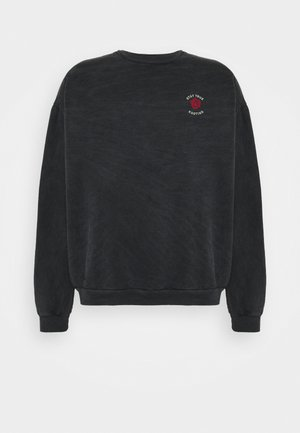 CREW STAY TRUE WASHED - Sweatshirt - black