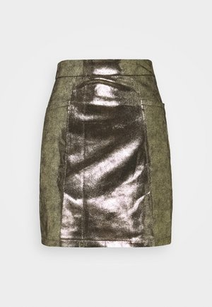 LADIES SKIRT PREMIUM - A-line skirt - gold