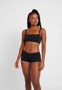 Skiny - ESSENTIALS WOMEN LOW CUT  - Onderbroeken - black - 1
