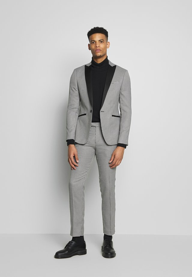 PUPPYTOOTH SUIT - Completo - black/white