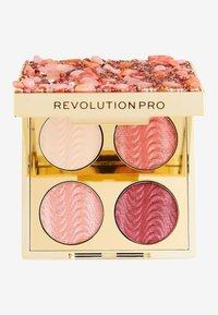 Revolution PRO - ULTIMATE EYE LOOK QUARTZ CRUSH PALETTE - Eyeshadow palette - - - 1