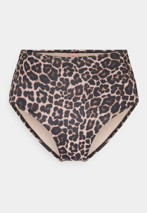 LEOPARD GAME CHEEKY - Bikinibroekje - warm taupe