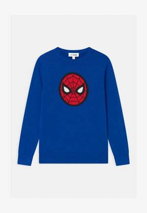BOYS SUPERMAN - Jumper - admiral blue