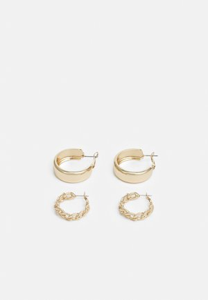 VMMAZIAH CREOLS 2 PACK - Øreringe - gold-coloured