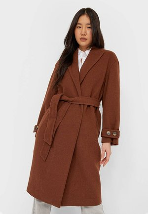 Classic coat - dark brown