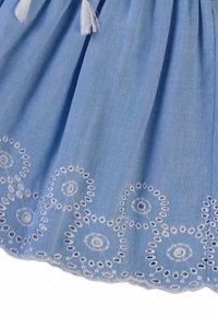 MINOTI - Pleated skirt - light blue - 2