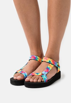 HENLEY - Platform sandals - multicolor