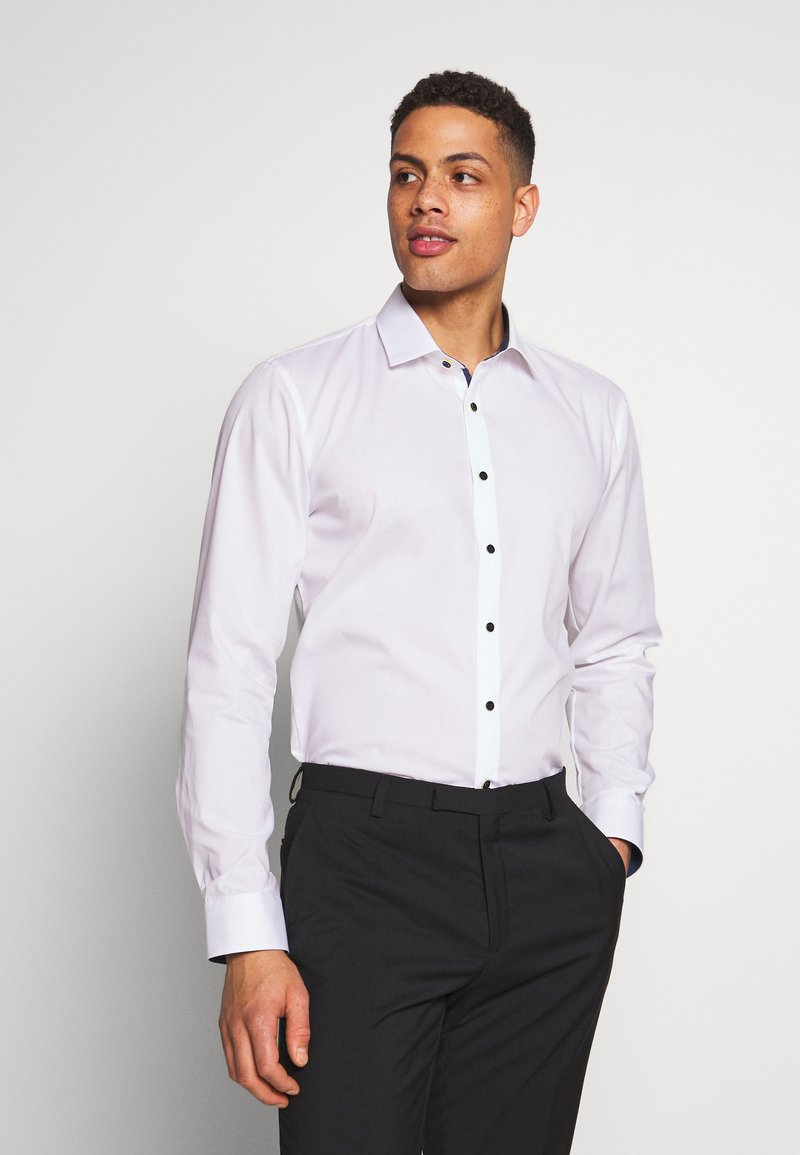 OLYMP - OLYMP NO.6 SUPER SLIM FIT  - Formal shirt - white