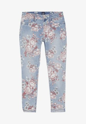 GIRL STEP - Jeansy Skinny Fit - off white