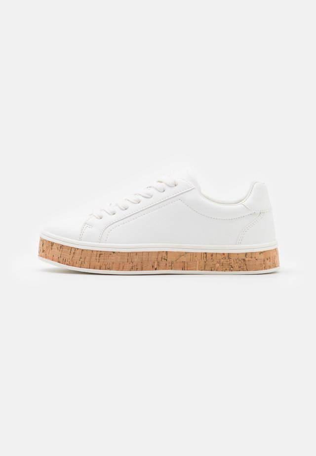 Sneakers laag - white/plain