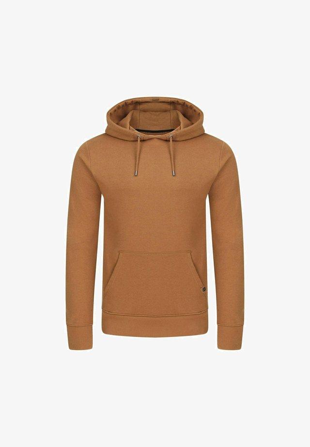 Hoodie - tawny brown