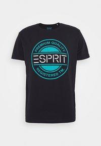 Esprit - T-shirt con stampa - navy - 4