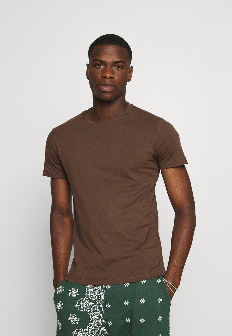 Replay - SHORT SLEEVE - Basic T-shirt - brown