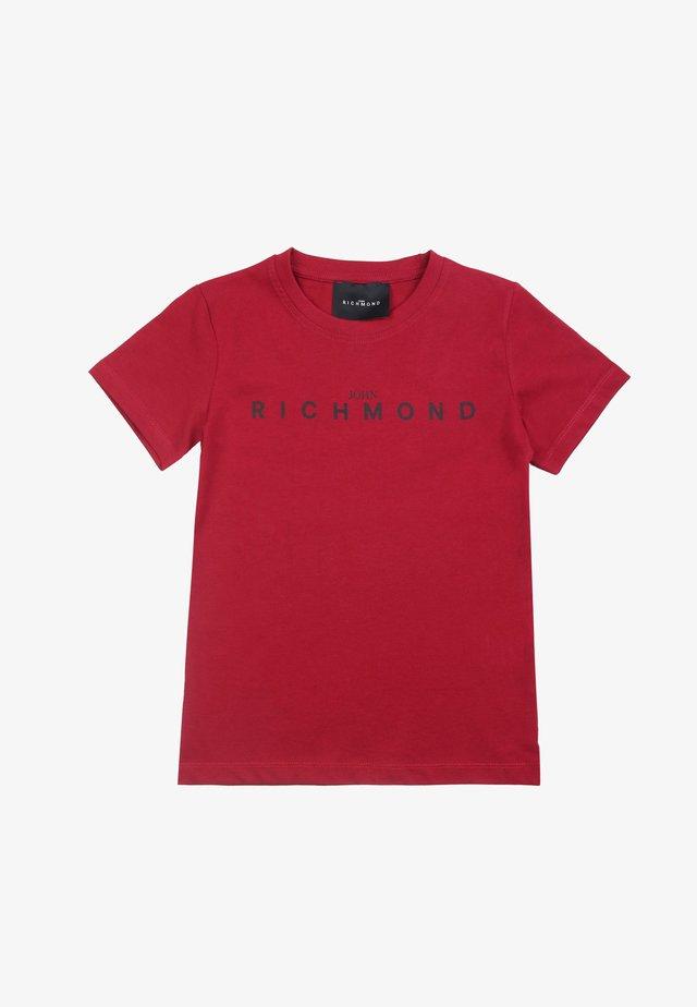 BAMBINO - T-shirt basic - bordeaux