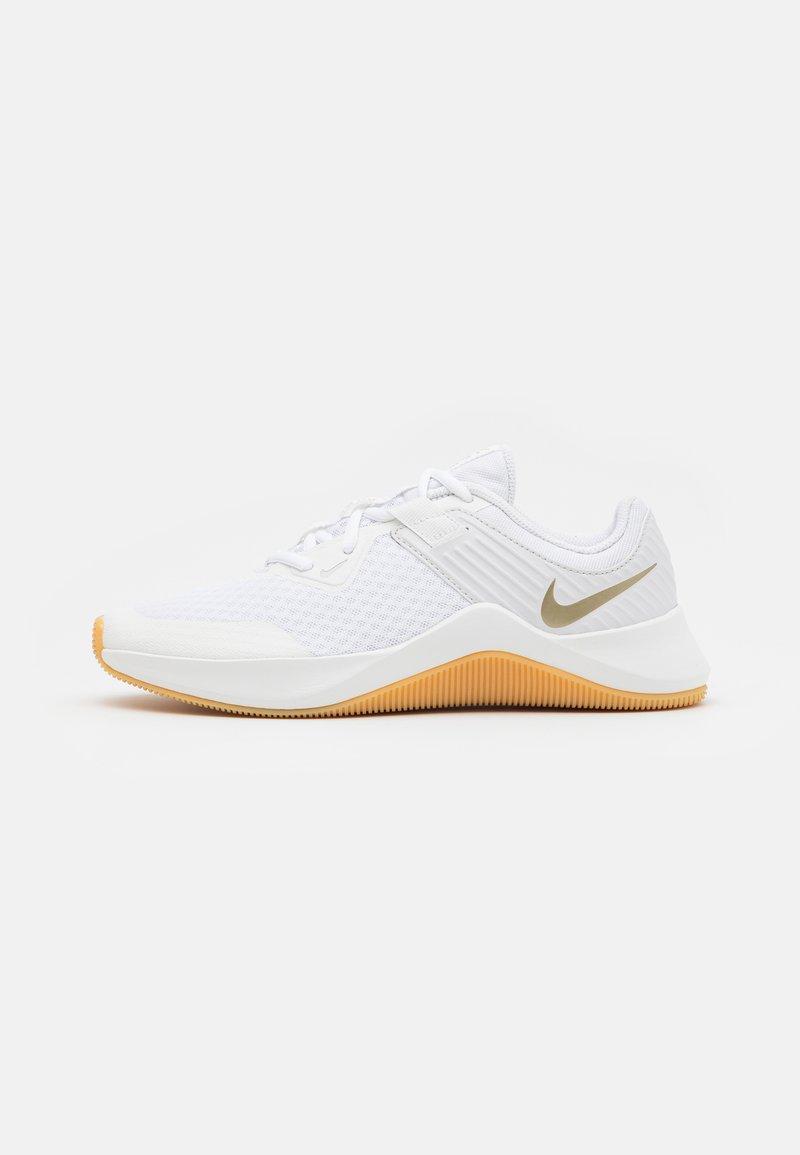 Nike Performance - MC TRAINER - Sports shoes - white/metallic gold star/platinum tint