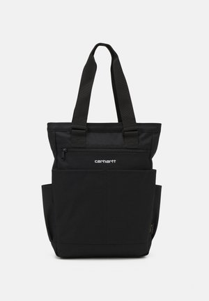 PAYTON KIT BAG UNISEX - Shoppingveske - black/white