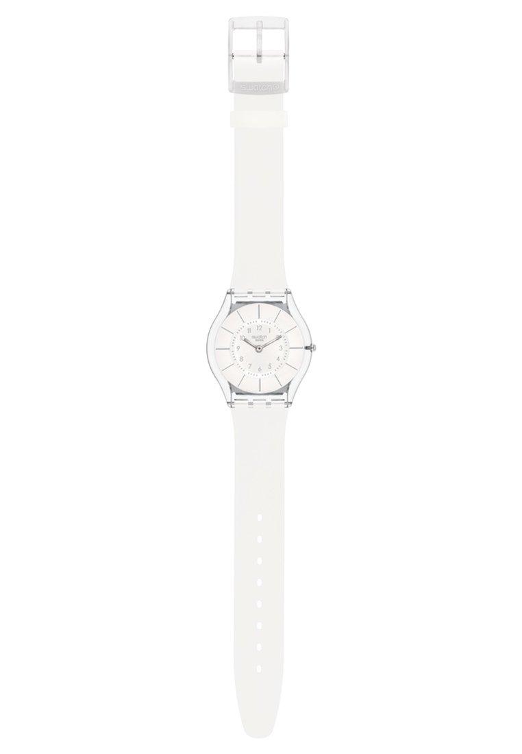 Swatch WHITE CLASSINESS - Klokke - white/hvit wlIIdNhHx3LHkiL