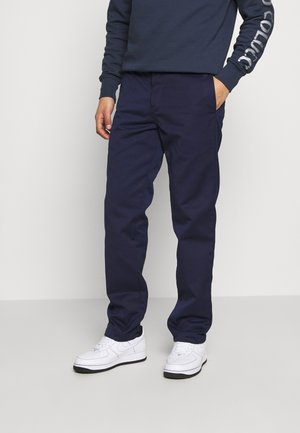 MASTER PANT DENISON - Trousers - space rinsed